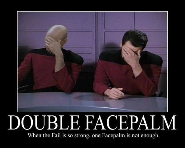 Picard Riker Facepalm