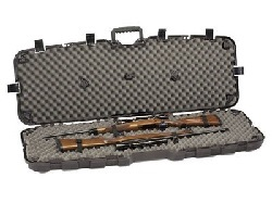 Double Scoped Hard Rifle Case