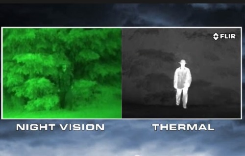 Night Vision vs Thermal Target Finding