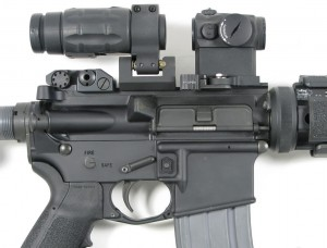 Reflex Sight With Magnifier