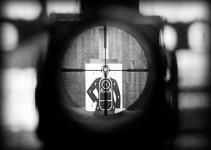 Rifle Scope Head Shot