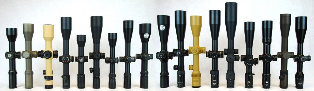 Scope Rifle Optics Examples