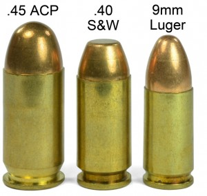 9mm vs 40 S&W vs 45 ACP Stopping Power