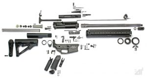 AR-15 Expanded parts