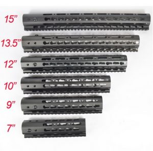 AR-15 build Free Float Rail Lengths