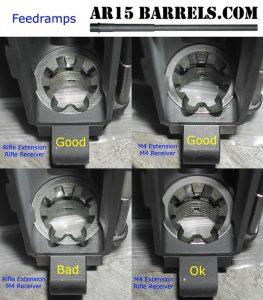 Build an AR-15 feed ramps