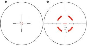 Trijicon VCOG 1-6x24 Scope Reticle