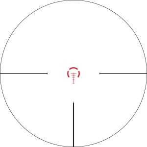 Vortex Optics Strike Eagle 1-6x24 Scope Reticle