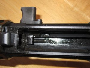 Gibbz Side Charging AR-15 Upper Receiver Inside